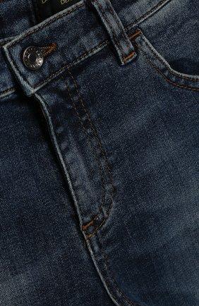 Детские джинсы DOLCE & GABBANA синего цвета, арт. L11F98/LD725   Фото 3