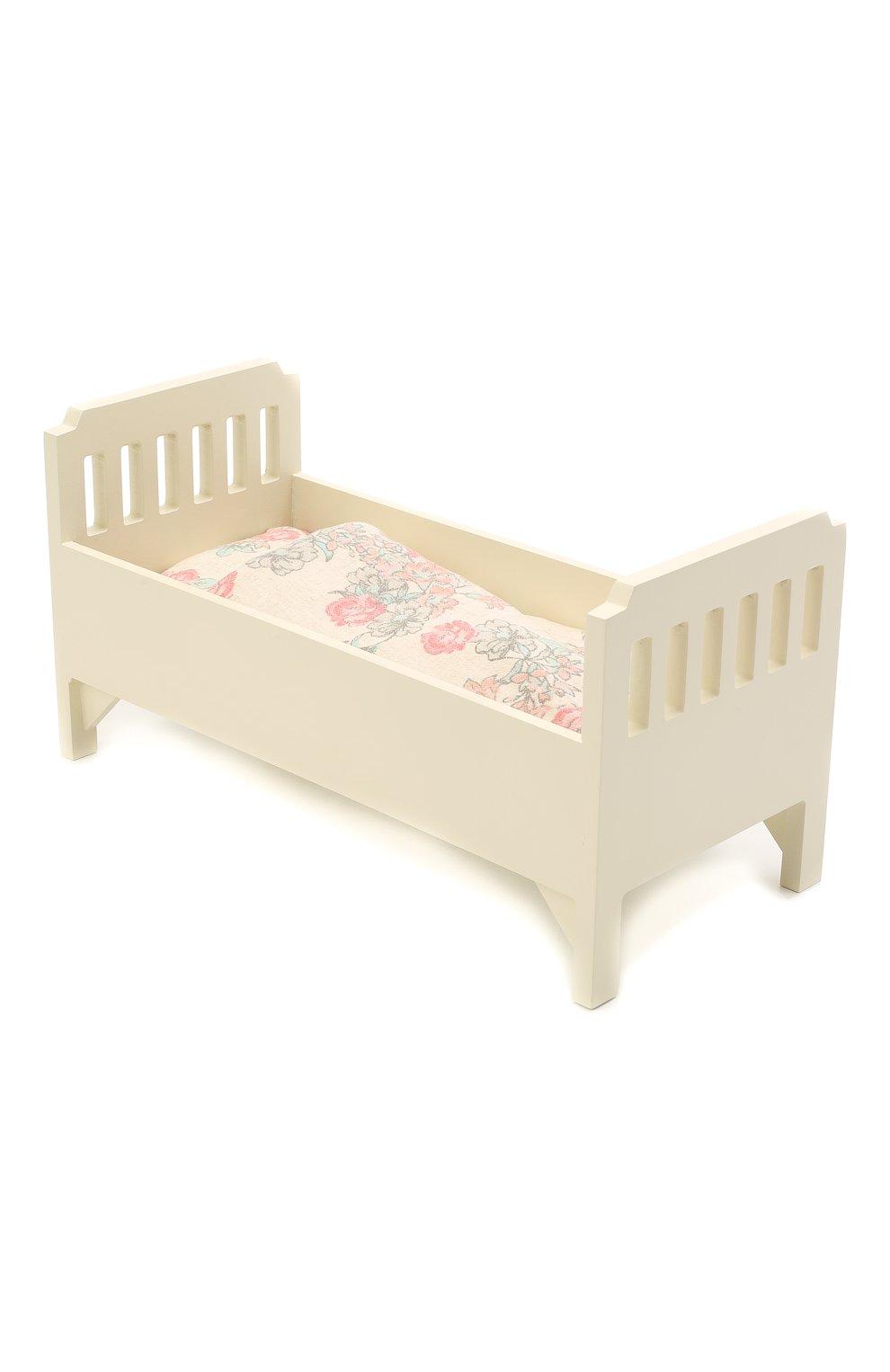 Детского игрушка кровать MAILEG белого цвета, арт. 11-6032-00   Фото 2 (Статус проверки: Проверено, Проверена категория)