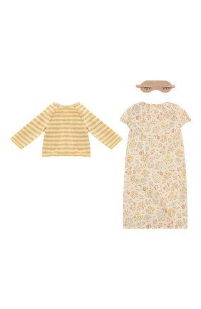Детского одежда для игрушки зайка MAILEG желтого цвета, арт. 16-8940-01   Фото 2