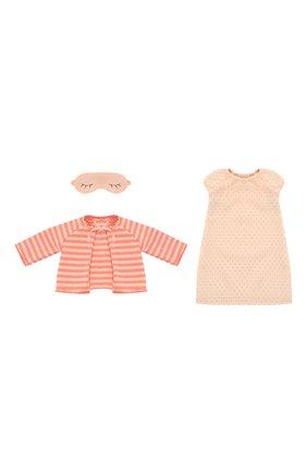 Детского одежда для игрушки кошка MAILEG кораллового цвета, арт. 16-8940-02 | Фото 1