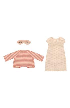 Детского одежда для игрушки кошка MAILEG кораллового цвета, арт. 16-8940-02 | Фото 2
