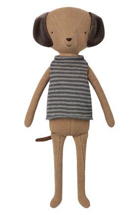 Детского игрушка щенок MAILEG коричневого цвета, арт. 16-8947-00 | Фото 1