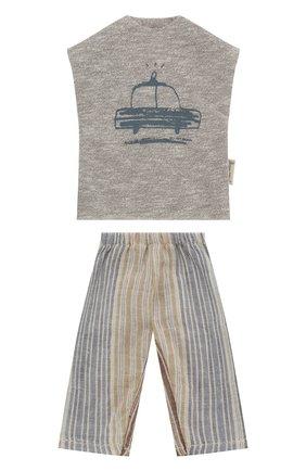 Детского одежда для игрушки пижама для брата джинджер MAILEG разноцветного цвета, арт. 17-6111-00   Фото 1