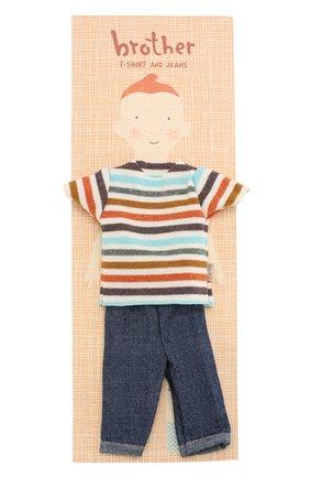 Детского одежда для игрушки брат джинджер MAILEG разноцветного цвета, арт. 17-6112-00   Фото 1