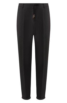 Мужской шерстяные брюки BILLIONAIRE серого цвета, арт. MRT0623 | Фото 1