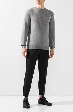 Мужской шерстяные брюки BILLIONAIRE серого цвета, арт. MRT0623 | Фото 2