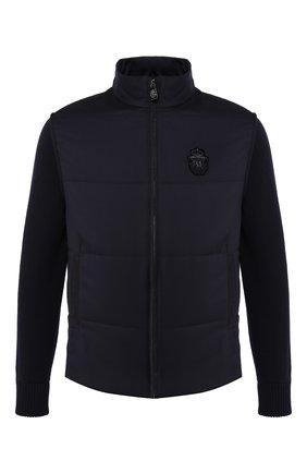 Мужская куртка BILLIONAIRE темно-синего цвета, арт. MRB1182 | Фото 1