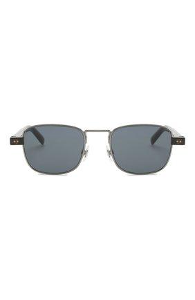 Мужские солнцезащитные очки DOLCE & GABBANA синего цвета, арт. 2222-04/80 | Фото 2