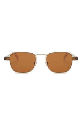Мужские солнцезащитные очки DOLCE & GABBANA коричневого цвета, арт. 2222-488/73 | Фото 2
