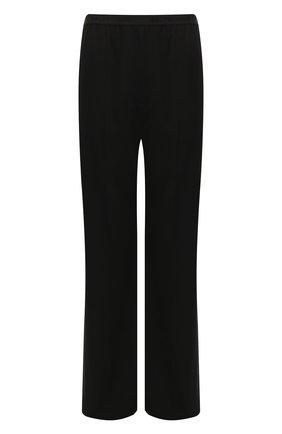 Мужской брюки из смеси вискозы и шерсти BALENCIAGA черного цвета, арт. 583836/TF003 | Фото 1