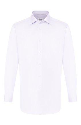 Мужская хлопковая сорочка BRIONI сиреневого цвета, арт. RCL8DL/PZ003 | Фото 1