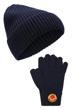 Комплект из шапки и перчаток | Фото №1