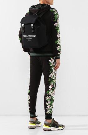Мужской рюкзак palermo tecnico DOLCE & GABBANA черного цвета, арт. BM1756/AA350 | Фото 2