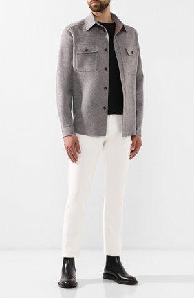 Мужская куртка из смеси шерсти и кашемира BRIONI серого цвета, арт. SGMM0L/07369 | Фото 2