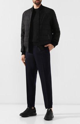 Мужские кроссовки Z ZEGNA черного цвета, арт. A4026X-LHGST | Фото 2