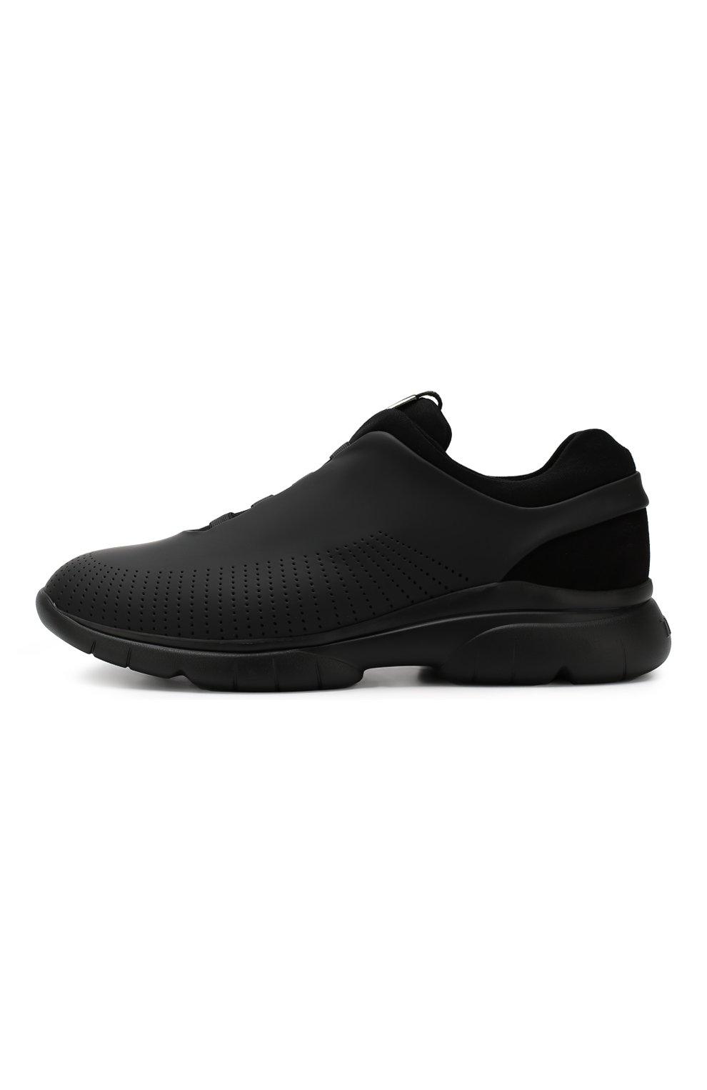 Мужские кроссовки Z ZEGNA черного цвета, арт. A4026X-LHGST | Фото 3