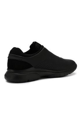Мужские кроссовки Z ZEGNA черного цвета, арт. A4026X-LHGST | Фото 4