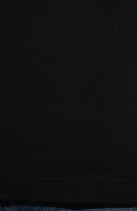 Мужская хлопковая футболка DOLCE & GABBANA черного цвета, арт. G8JX7T/FU7EQ | Фото 5