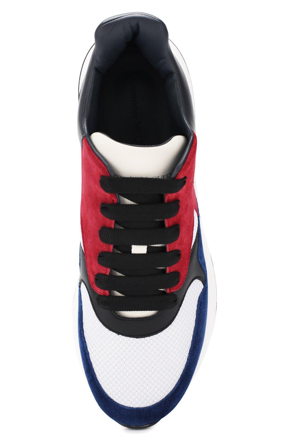 Кожаные кроссовки | Фото №5