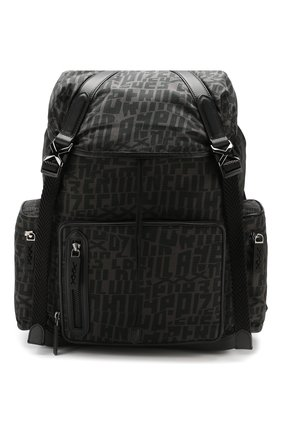 Мужской рюкзак ZEGNA COUTURE темно-серого цвета, арт. C1466C-LHCIR | Фото 1