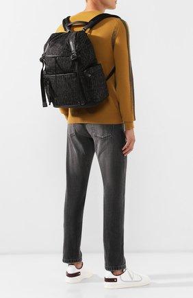 Мужской рюкзак ZEGNA COUTURE темно-серого цвета, арт. C1466C-LHCIR | Фото 2