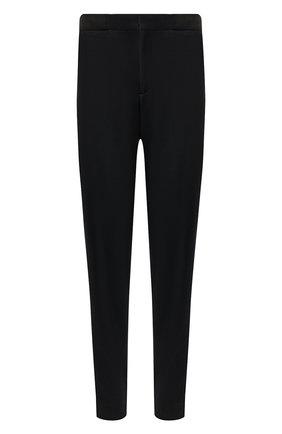 Мужской шерстяные брюки ERMENEGILDO ZEGNA черного цвета, арт. UTI11/TT12 | Фото 1
