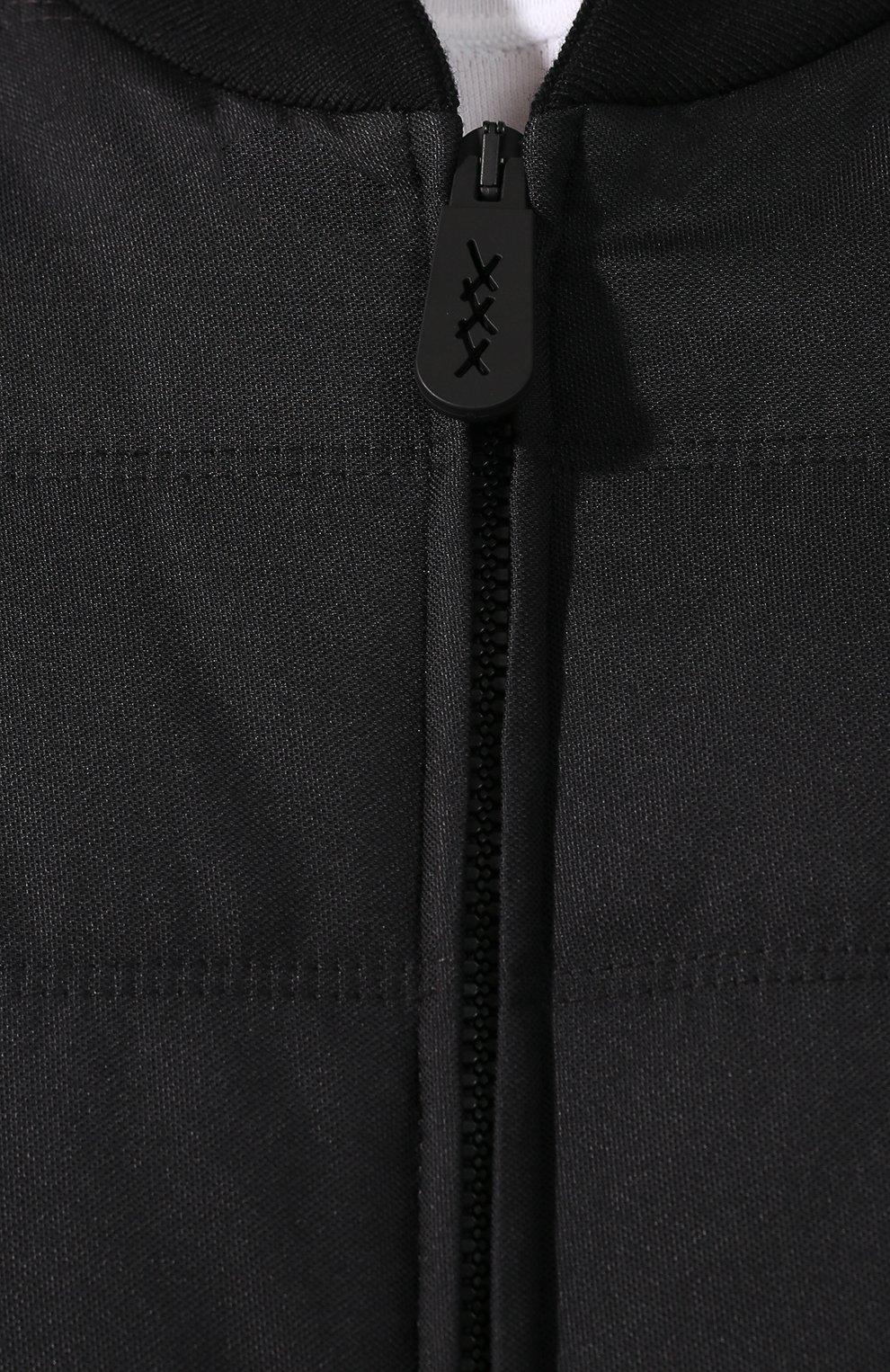 Мужской бомбер ZEGNA COUTURE черного цвета, арт. CTC90/6T137 | Фото 5