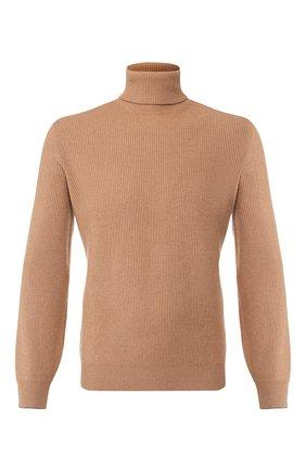 Мужской шерстяной свитер BRUNELLO CUCINELLI бежевого цвета, арт. M3629503 | Фото 1