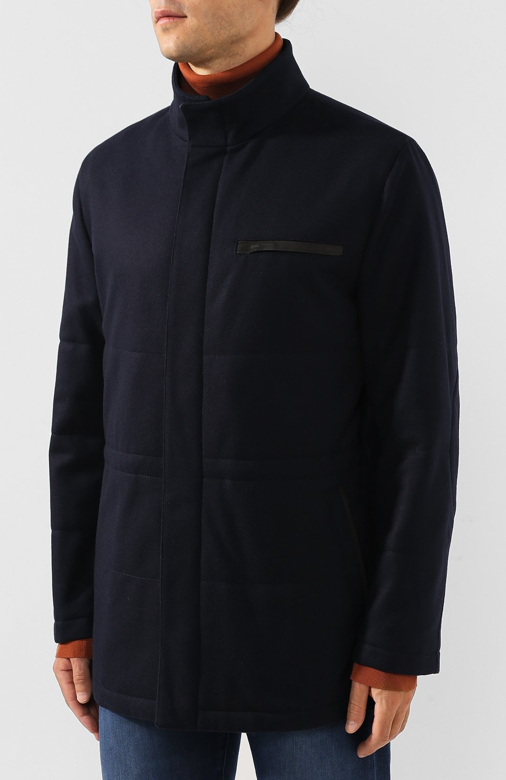 Кашемировая куртка | Фото №3