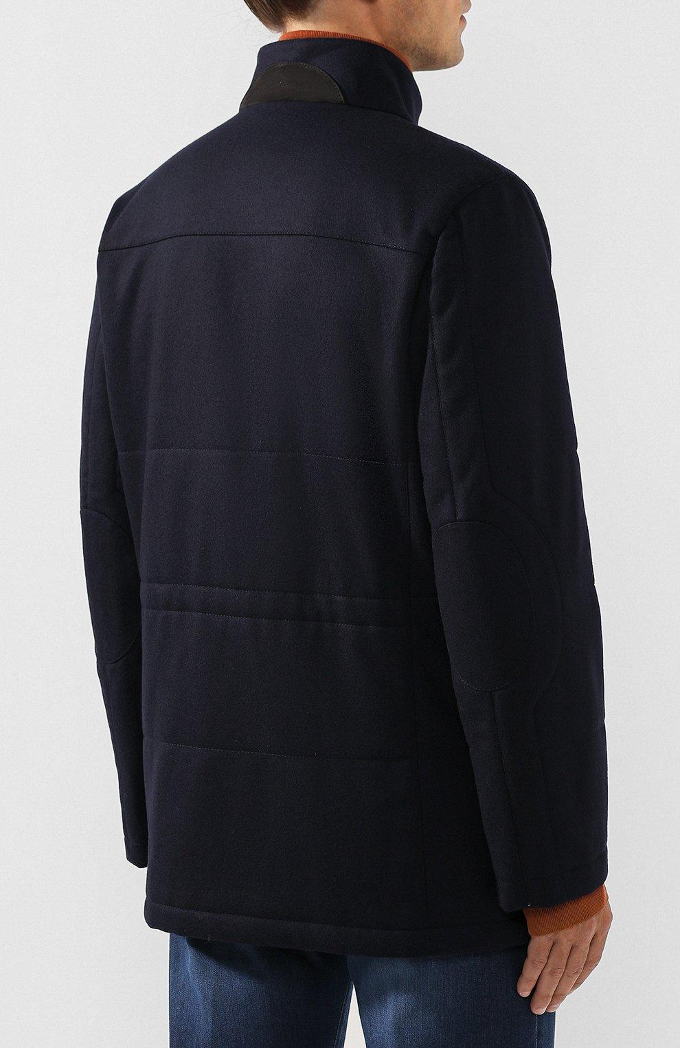Кашемировая куртка | Фото №4