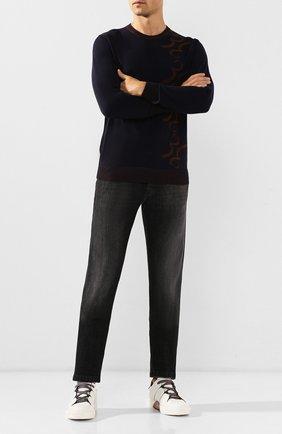 Мужские джинсы KITON темно-серого цвета, арт. UPNJS/J03S53 | Фото 2