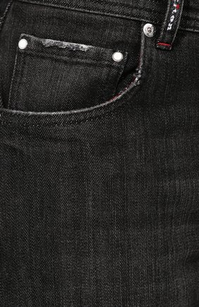 Джинсы Kiton темно-серые   Фото №5