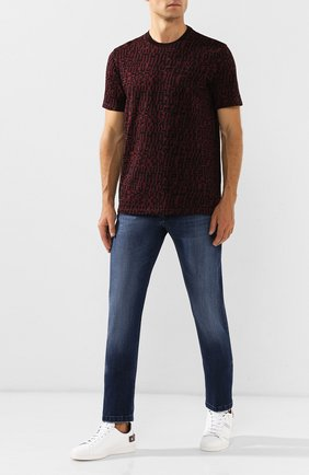 Мужские джинсы KITON синего цвета, арт. UPNJS/J03S51 | Фото 2