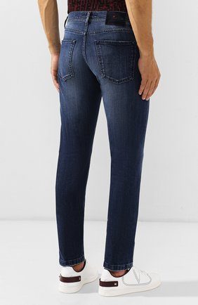 Мужские джинсы KITON синего цвета, арт. UPNJS/J03S51 | Фото 4
