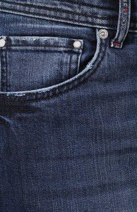 Джинсы Kiton синие | Фото №5