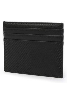Женский кожаный футляр для кредитных карт GIORGIO ARMANI черного цвета, арт. Y1H266/YSU4X | Фото 2