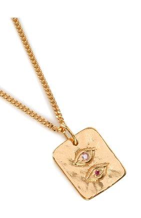 Женская кулон lovers eye BJORG золотого цвета, арт. 21018 | Фото 2