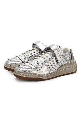 Кожаные кроссовки SL24 | Фото №1
