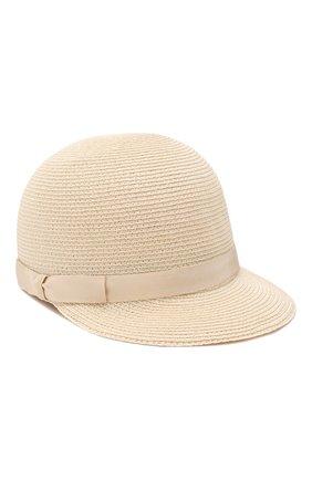 Женская кепка BORSALINO бежевого цвета, арт. 232164   Фото 1