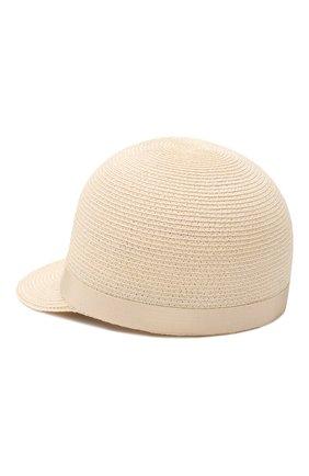 Женская кепка BORSALINO бежевого цвета, арт. 232164   Фото 2