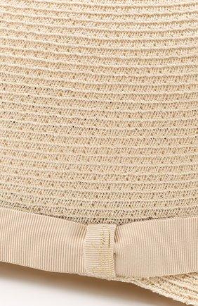 Женская кепка BORSALINO бежевого цвета, арт. 232164   Фото 3