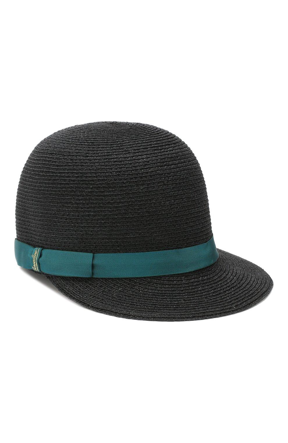 Женская кепка BORSALINO синего цвета, арт. 232164 | Фото 1