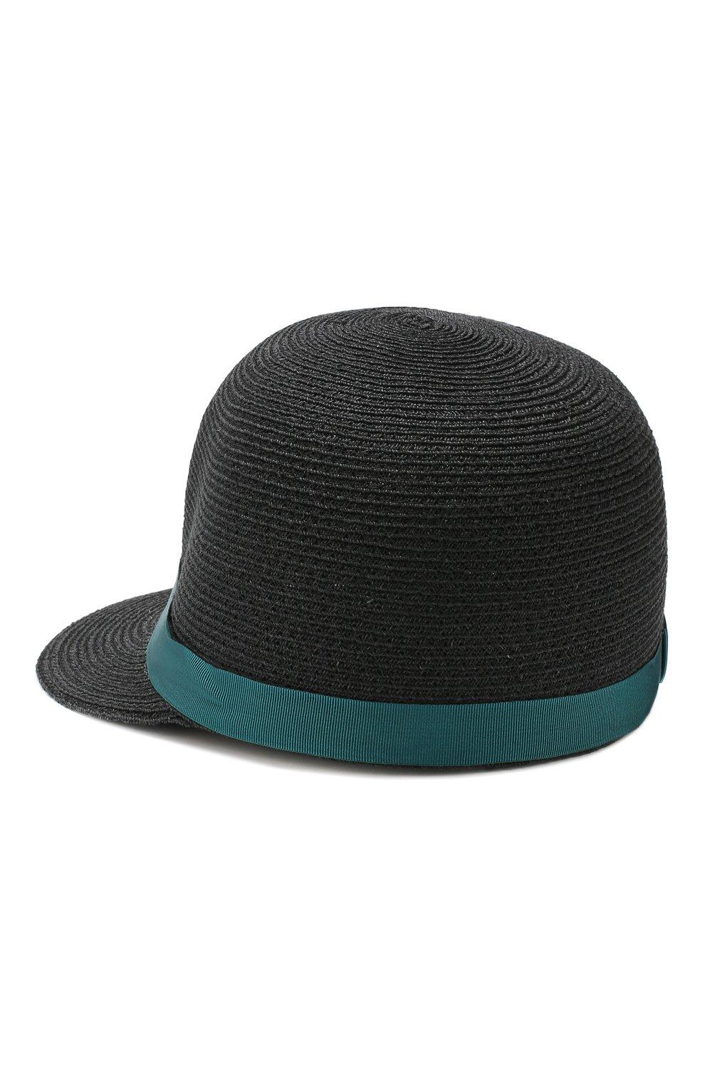 Женская кепка BORSALINO синего цвета, арт. 232164 | Фото 2