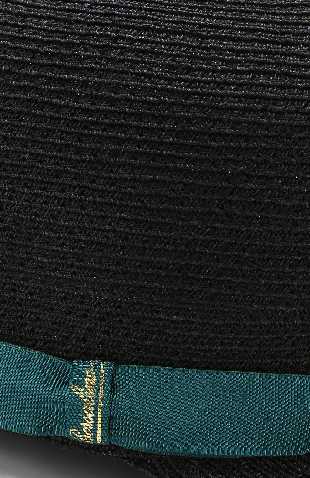 Женская кепка BORSALINO синего цвета, арт. 232164 | Фото 3