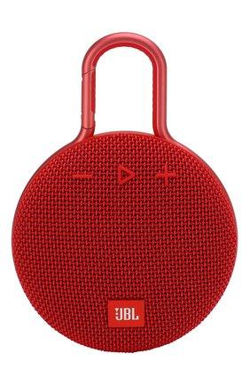 Мужские портативная акустика jbl clip 3 JBL красного цвета, арт. JBLCLIP3RED | Фото 1