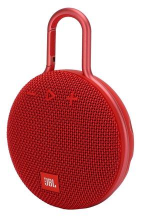 Мужские портативная акустика jbl clip 3 JBL красного цвета, арт. JBLCLIP3RED | Фото 2