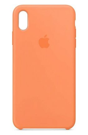 Мужской чехол для iphone xs max APPLE оранжевого цвета, арт. MVF72ZM/A | Фото 1