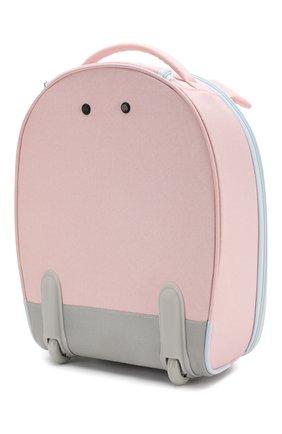 Детский дорожный чемодан на колесиках SAMSONITE розового цвета, арт. CD0-90001 | Фото 2