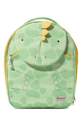 Детский дорожный чемодан на колесиках SAMSONITE зеленого цвета, арт. CD0-04021 | Фото 1