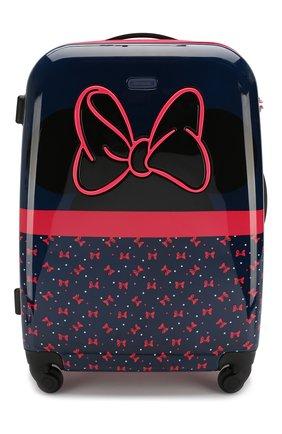 Детский дорожный чемодан на колесиках SAMSONITE темно-синего цвета, арт. 40C-01011 | Фото 1